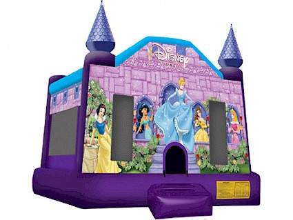 Small Princess Jumping Castle