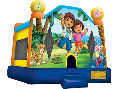 Dora & Diego Jumping Castle