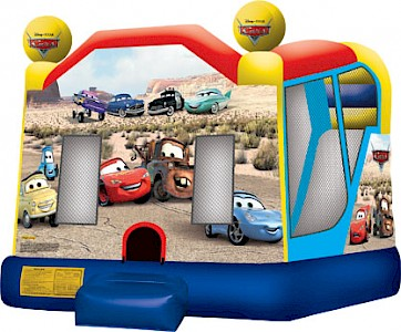Disney Cars 3 in 1 Combo Jumping Castle