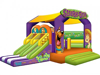 Scooby-Doo Interactive Bubble Jumping Castle