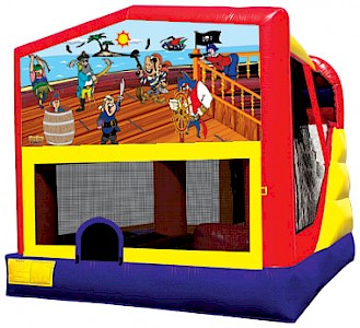 Pirates 3 in 1 Combo Jumping Castle