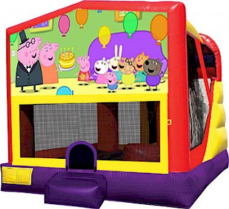 Peppa Pig 3 in 1 Combo Jumping Castle
