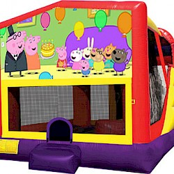 Peppa Pig Combo Jumping Castle