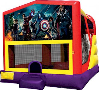 Avengers 3 in 1 Combo Jumping Castle
