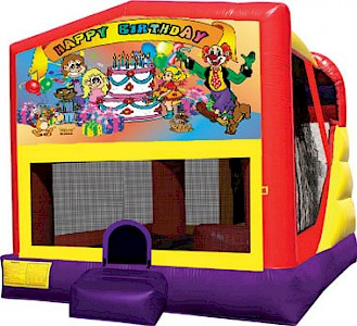 Happy Birthday 3 in 1 Combo Jumping Castle