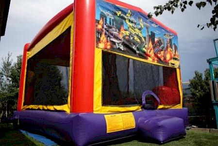 Transformers 3 in 1 Combo Jumping Castle