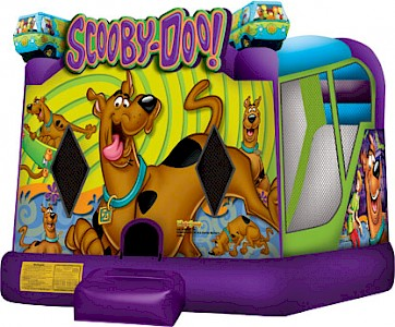 Scooby-Doo 3 in 1 Combo Jumping Castle