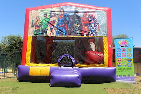 Justice League 3 in 1 Combo Jumping Castle