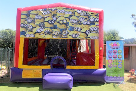 Minions 3 in 1 Combo Jumping Castle