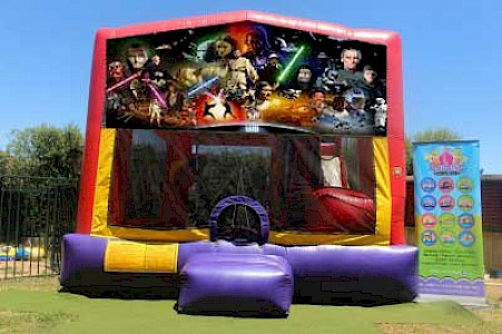 Star Wars 3 in 1 Combo Jumping Castle