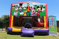 Mickey, Minnie and Friends 3 in 1 Combo Jumping Castle