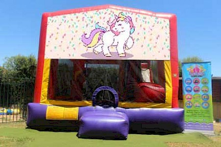 Unicorn 3 in 1 Combo Jumping Castle