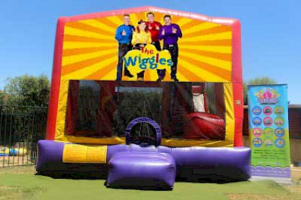 Wiggles 3 in 1 Combo Jumping Castle