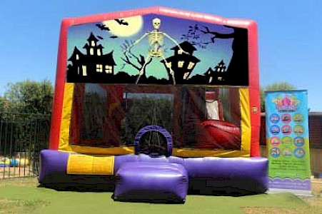 Halloween 3 in 1 Combo Jumping Castle