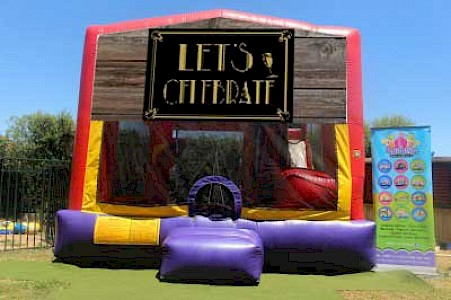 Let's Celebrate 3 in 1 Combo Jumping Castle