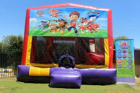 Paw Patrol 3 in 1 Combo Jumping Castle