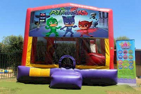 PJ Mask 3 in 1 Combo Jumping Castle